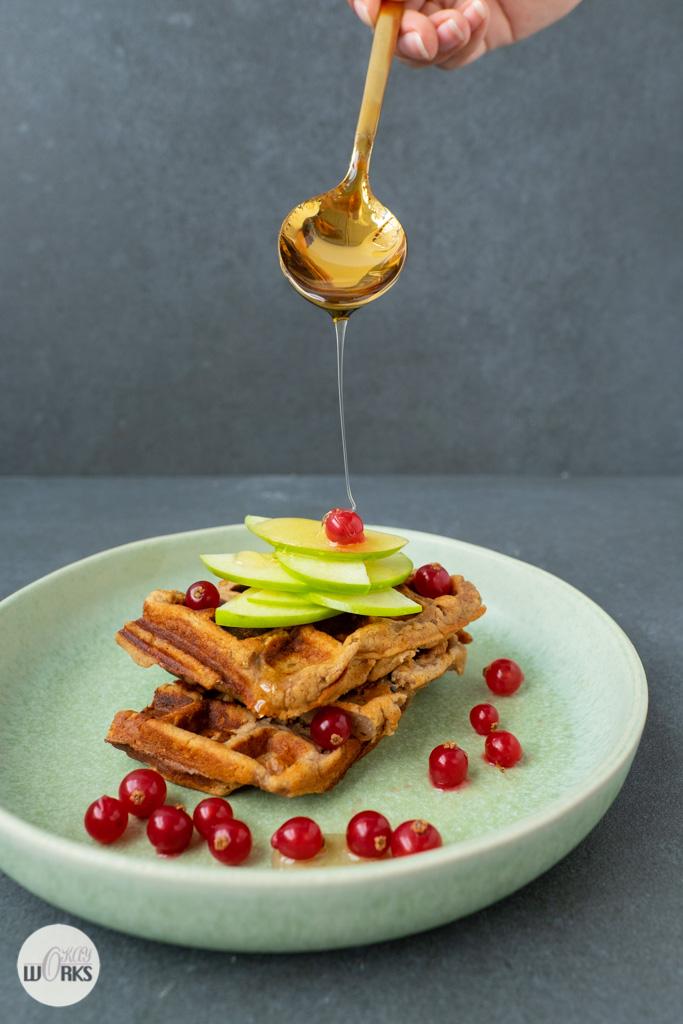 Ontbijt wafel, Brain food boek